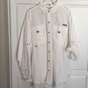 Columbia Long Sleeve Shirt Light weight XL